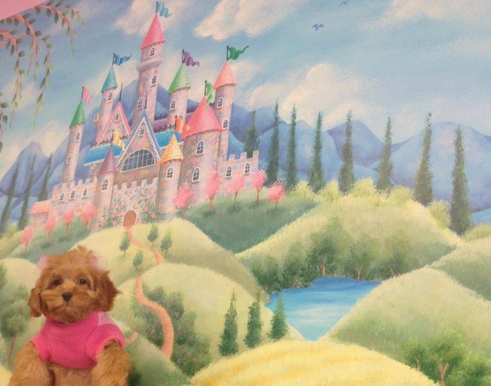 Lola visits the Castle